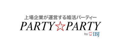 PARTY☆PARTYロゴ